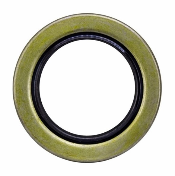 "Seal, Grease, ID-2.250"", OD-3.376"", Double Lip, Spring, (#42 Reg)"