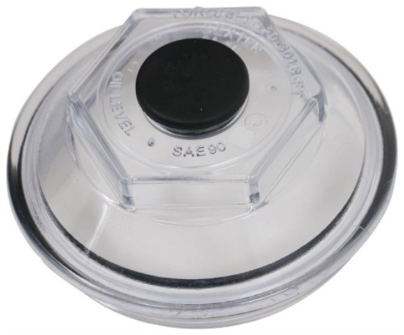 Dexter Oil Cap, 10K GD, One Piece Hud/Drum, (21-88)