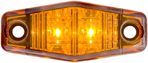 Marker Light, Amber, Mini, Surface Mount, (V-113)