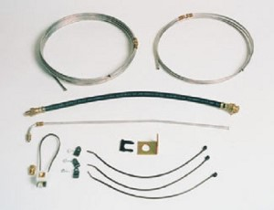 Brake Line Kit, Single Axle