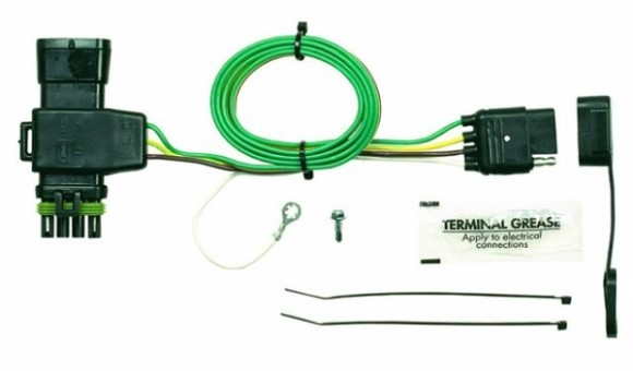 Plug-N-Play, Chevrolet/GMC Vehicle Specific Kit, 4 Female Flat, Older