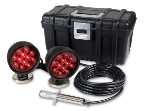 Tow Lights, LED, 4 Pin Plug, 30' Cord, Carrying Case