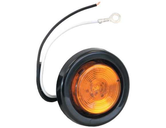 "Marker Light, LED, 2"" Round, Amber, 1 LED, (146KA)"