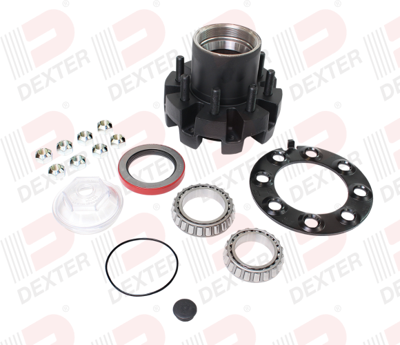 Dexter Axle Hub Assembly Kit for 10,000 lb Heavy Duty Axle-Drum Brake Only