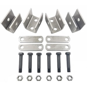 "Hanger Kit, APH, Single Axle, 1-3/4"" Eye-Eye Spring, 3.5K-7K"