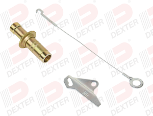 Dexter Brake Adjuster Kit, Electric, 8K-12K, Cast Backing Plate, LR