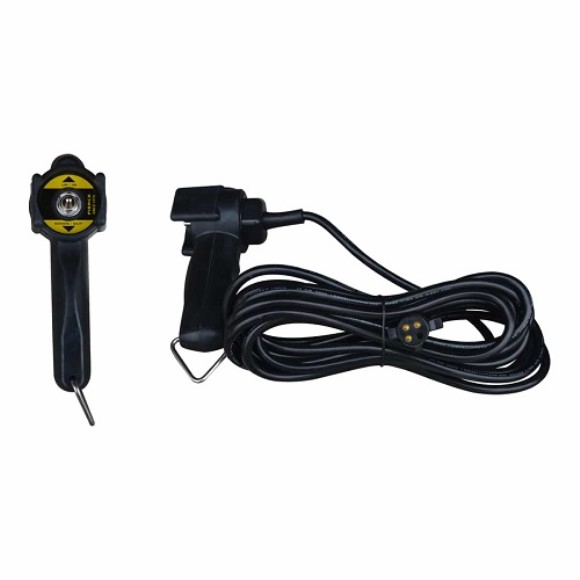 Remote, Spring To Center Toggle, 20' Cord, 4 Prong Plug