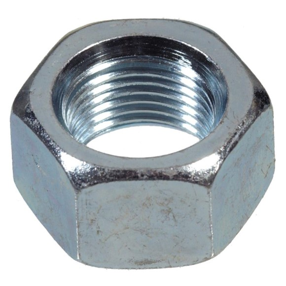 1/2' by 20 Hex Nut, Fine, U-Bolt Nut