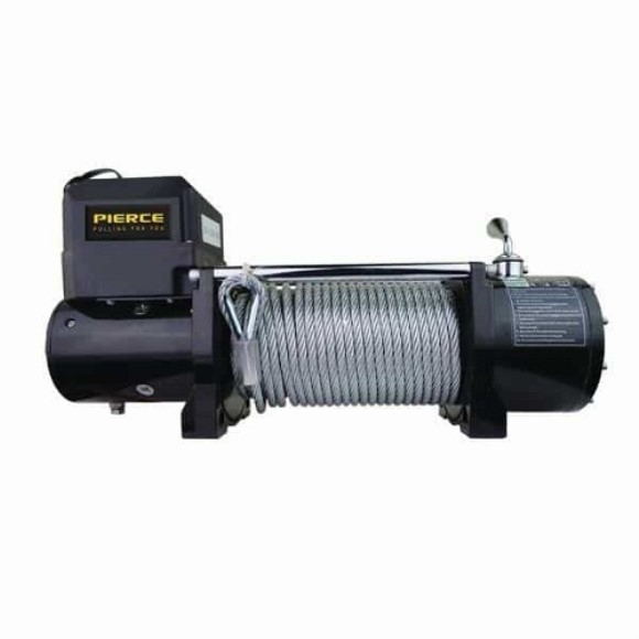 Winch, 9,000 lb., 12 Volt, Recovery Series