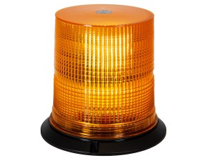 "Beacon, LED, 6.5"" Wide, Tall, Amber, Multi-Mount"
