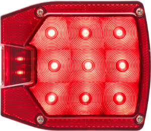 "Tail Light, Left, Under/Over 80"", 2-Stud Mt, (Slim 440)"